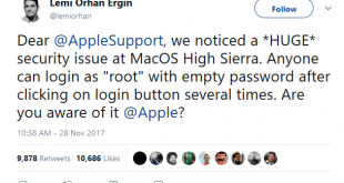 Apple Security MacOS High Sierra
