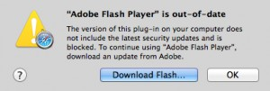 Apple blokkeert Flash Player