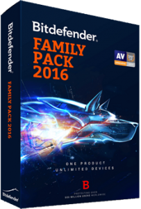 Bitdefender Family Pack 2016 - 2017