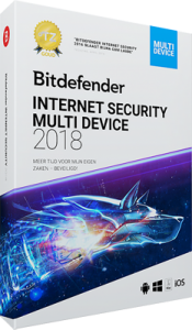 Bitdefender Internet Security 2018 Multi Device