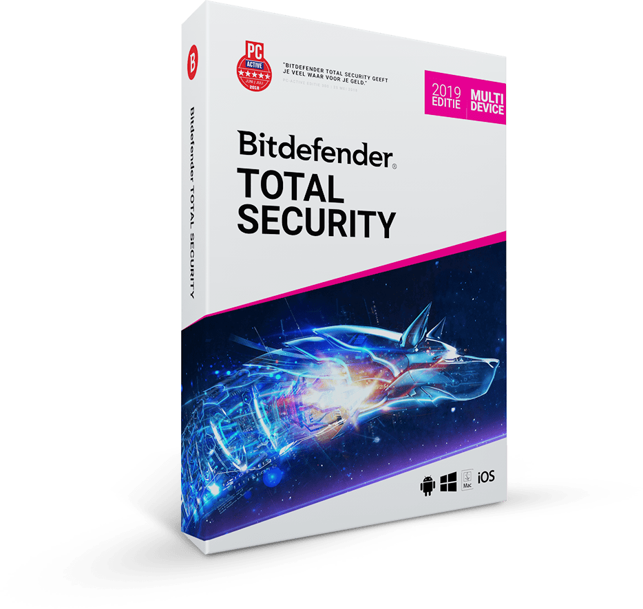 Bitdefender Totaal Security 2019