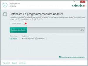 Kaspersky Antivirus 2015 updaten