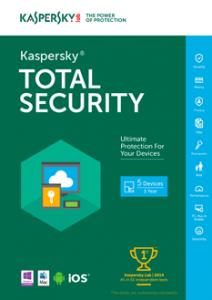 Kaspersky Total Security Multi-Device 2021