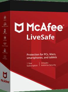 McAfee LiveSave 2020