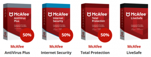 McAfee Total Protection Korting