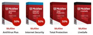 McAfee Total Protection Korting