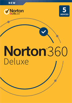 Norton Security Deluxe 2021 - NOR360DELUXE1Y5D