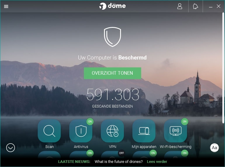 Panda Dome Essential 2018 Review - Virusscanner met VPN ...