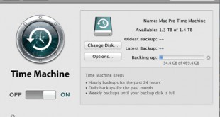 Time Machine Mac OS X