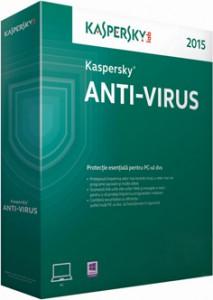 Virusscanner Kaspersky antivirus 2015